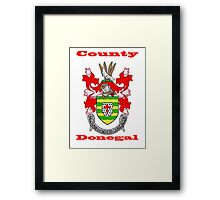 County Donegal Coat of Arms Framed Print