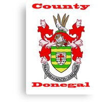 County Donegal Coat of Arms Canvas Print