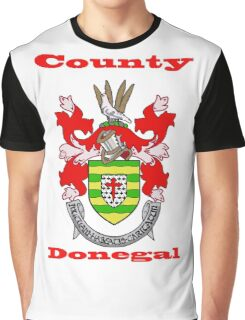 County Donegal Coat of Arms Graphic T-Shirt