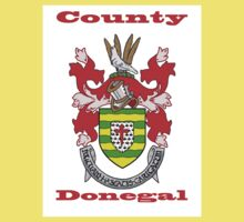 County Donegal Coat of Arms Kids Tee