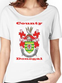 County Donegal Coat of Arms Women's Relaxed Fit T-Shirt