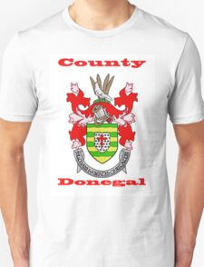 County Donegal Coat of Arms Unisex T-Shirt