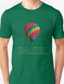 All Places Coldplay Tour T-Shirt