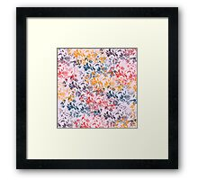 Abstract pattern 24 Framed Print