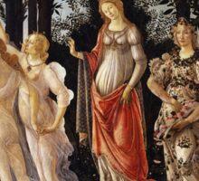 Botticelli  - La Primavera Spring . Botticelli - Spring Sticker