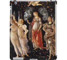 Botticelli  - La Primavera Spring . Botticelli - Spring iPad Case/Skin