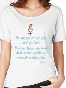 Be Who You Are Women's Relaxed Fit T-Shirt