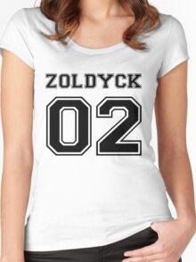 Hunter x Hunter - Zoldyck Varsity  Women's Fitted Scoop T-Shirt
