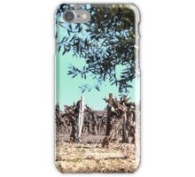 Olives and vines. iPhone Case/Skin