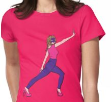 Supergirl fashion hero Womens Fitted T-Shirt