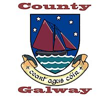 County Galway Coat of Arms Photographic Print