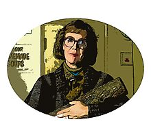 The Log lady Photographic Print
