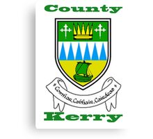 County Kerry Coat of Arms Canvas Print