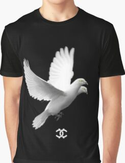 Hucci Bird Graphic T-Shirt
