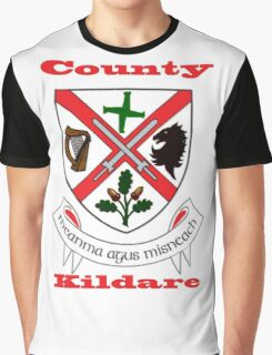 County Kildare Coat of Arms Graphic T-Shirt
