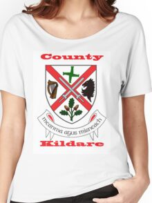 County Kildare Coat of Arms Women's Relaxed Fit T-Shirt