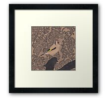 Golden Avatar Framed Print