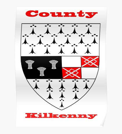 County Kilkenny Coat of Arms Poster