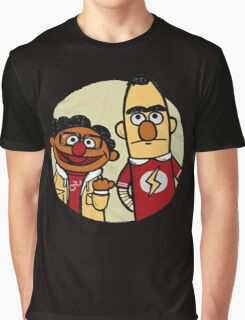 Big Bang Theory Muppets PARADOX Sheldon Copper Graphic T-Shirt