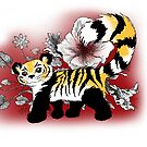 Panda-Tiger Hybrid by CatAstrophe