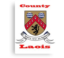 County Laois Coat of Arms Canvas Print