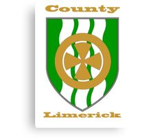 County Limerick Coat of Arms Canvas Print