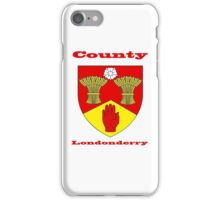County Londonderry Coat of Arms iPhone Case/Skin