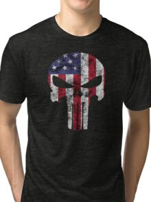 I am only in a jeep USA American Punisher Tri-blend T-Shirt