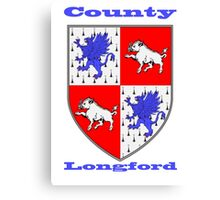 County Longford Coat of Arms Canvas Print