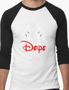 Dope Hands Men's Baseball ¾ T-Shirt