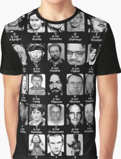 Serial Killer ABC's Graphic T-Shirt