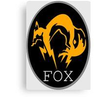 FOX MGS Canvas Print