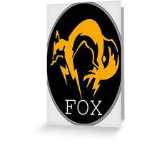 FOX MGS Greeting Card