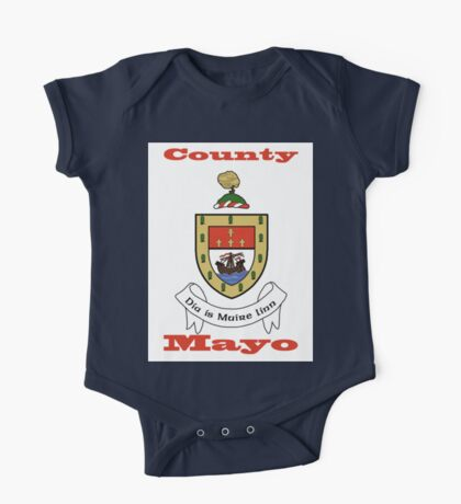 County Mayo Coat of Arms One Piece - Short Sleeve