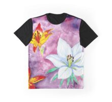 Lilies Graphic T-Shirt