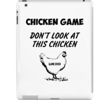 Chicken GAME funny iPad Case/Skin