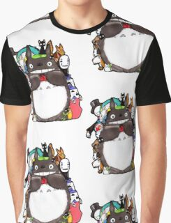 Mix Totoro Graphic T-Shirt