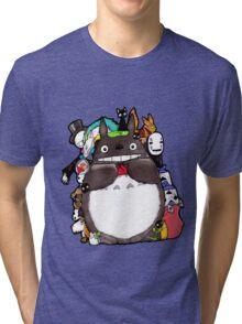 Mix Totoro Tri-blend T-Shirt
