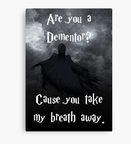 Are you a Dementor? Canvas Print