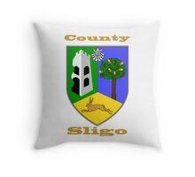 County Sligo Coat of Arms Throw Pillow