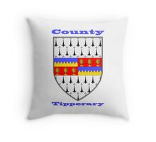 County Tipperary Coat of Arms Throw Pillow