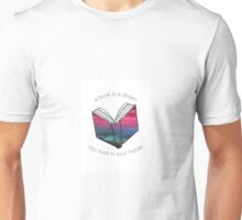 A Book Is A Dream Unisex T-Shirt
