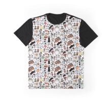 Background Totoro Graphic T-Shirt