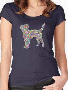 Labrador Retriever, Easter Jellybean Women's Fitted Scoop T-Shirt