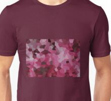 Small Pink Crystals Unisex T-Shirt