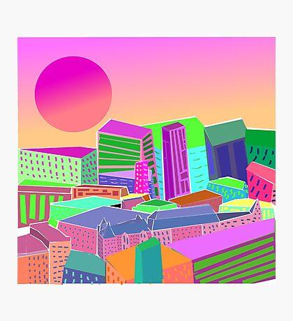 bubblegum utopia  Photographic Print