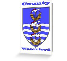 County Waterford Coat of Arms Greeting Card