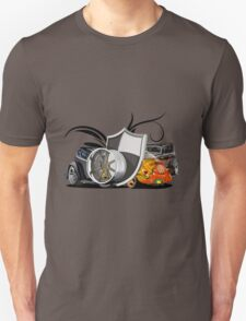 cars back Unisex T-Shirt