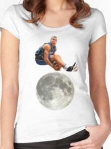 Aaron Gordon Slam Dunk Contest 2016 Women's Fitted Scoop T-Shirt