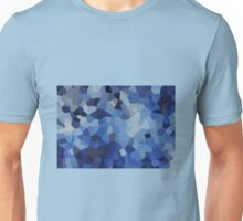 Small Blue Crystals Unisex T-Shirt